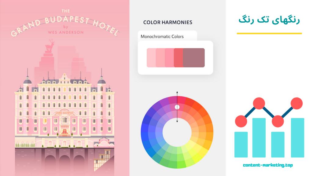 رنگهای تک رنگ