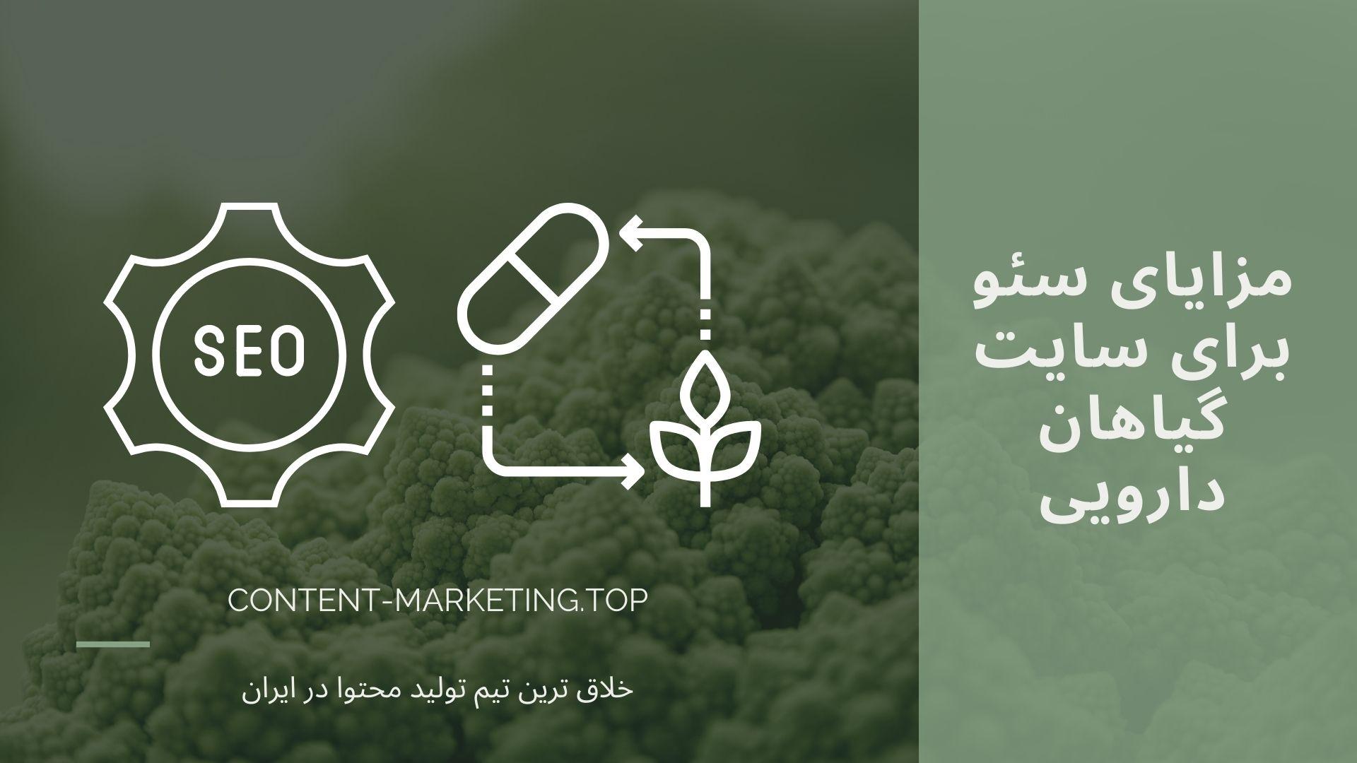 مزایای سئو برای سایت گیاهان دارویی