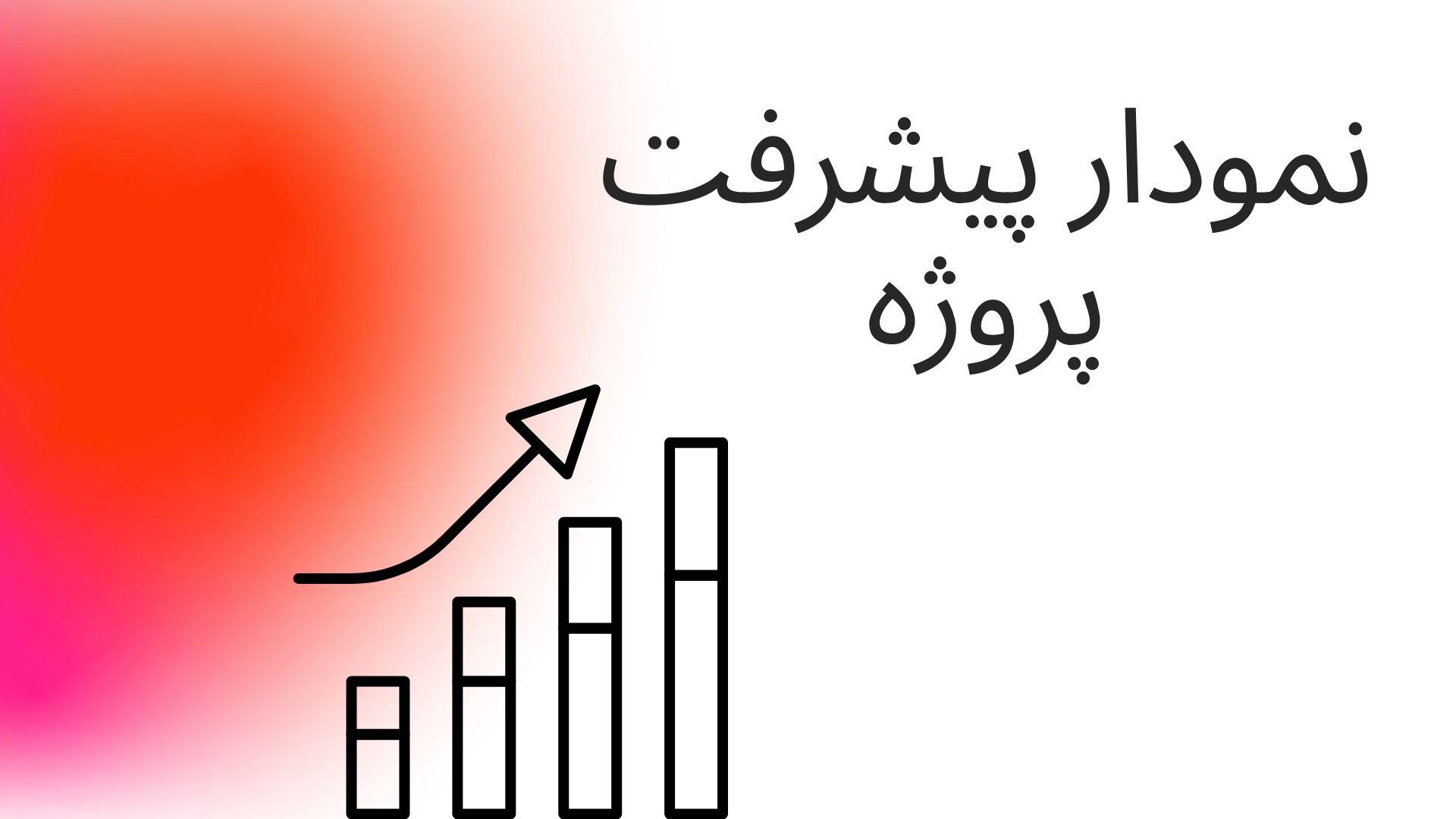 نمودار پیشرفت پروژه: