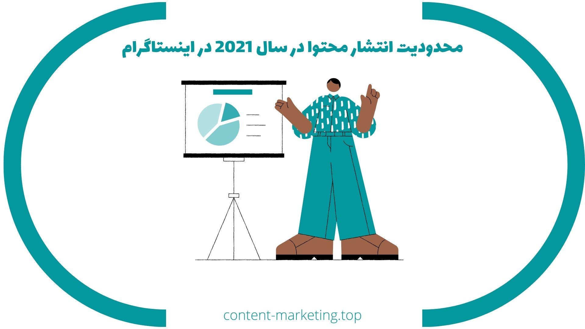 محدودیت انتشار محتوا در سال 2021 در اینستاگرام